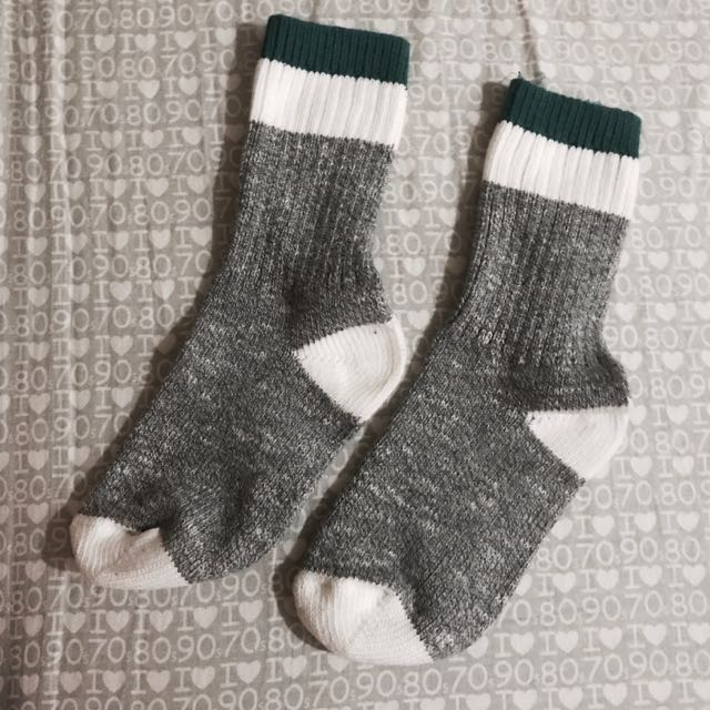 正韓配色襪子