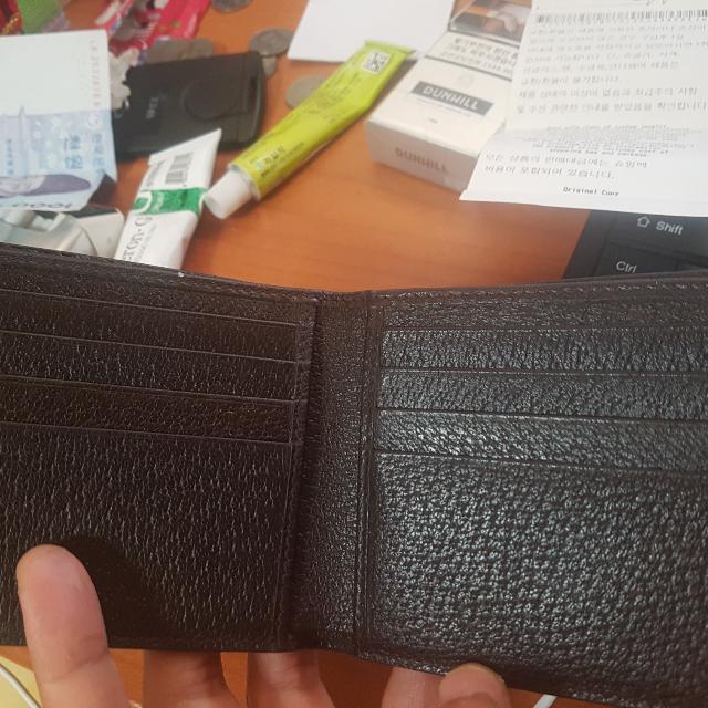 구찌 레더 마몬트 지갑 팝니다.