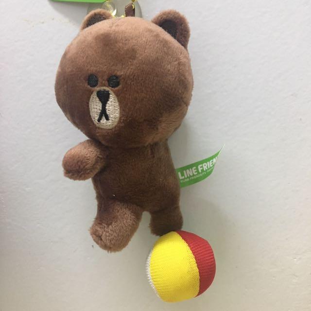 熊大 LINE 吊飾 玩偶 玩具 娃娃