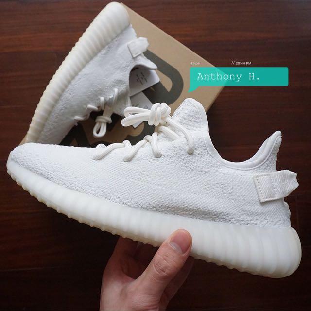 Adidas Yeezy Boost V2 Cream White 椰子