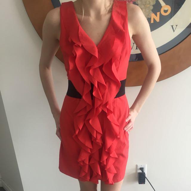 Alythea red dress