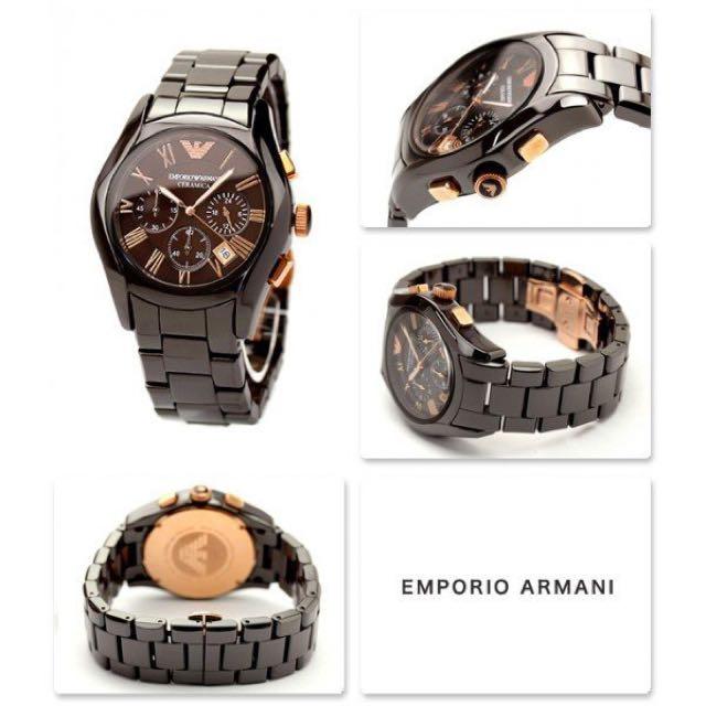 Armani陶瓷手錶