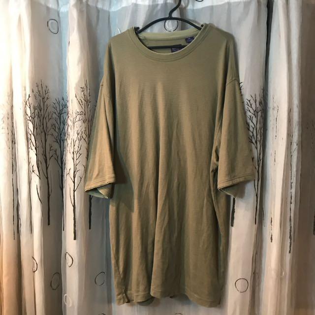 Arrows oversized Moss Green Shirt