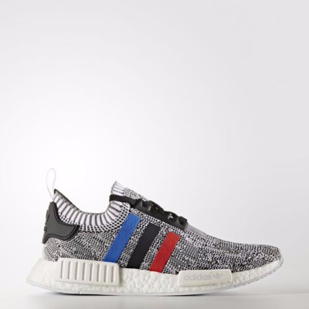 outlet store 40889 a6aff Authentic Adidas NMD R1 Primeknit Tri Color Grey