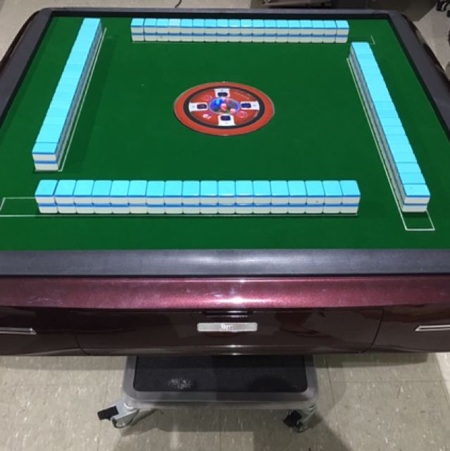 Amazing Automatic Mahjong Table Furniture Others On Carousell Download Free Architecture Designs Sospemadebymaigaardcom