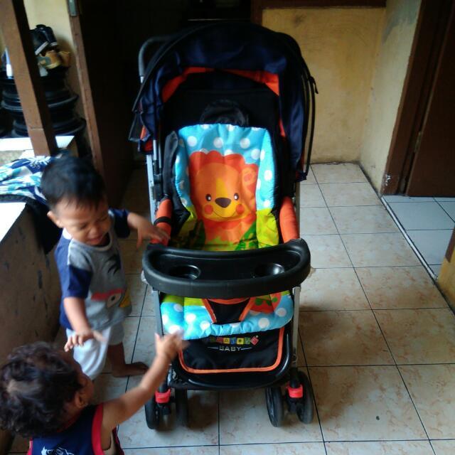 Baby Stroller Merk Pliko Creative Baby