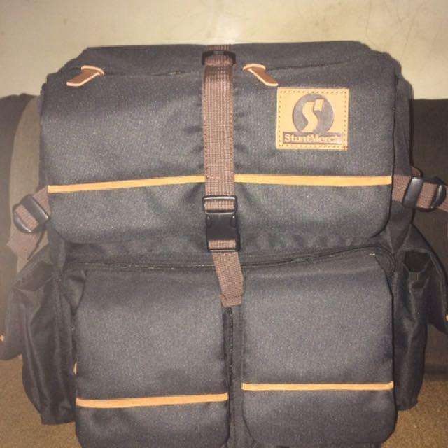 "Backpack Merk ""StuntMerch"" Ori"