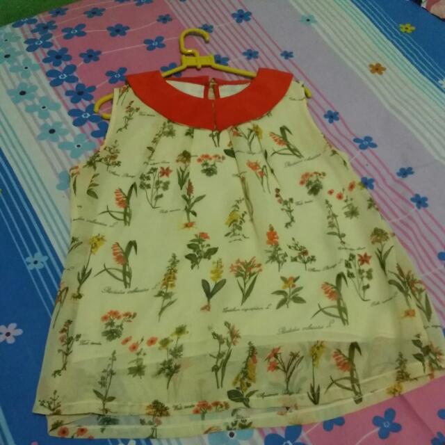 Baju Bunga Chibi