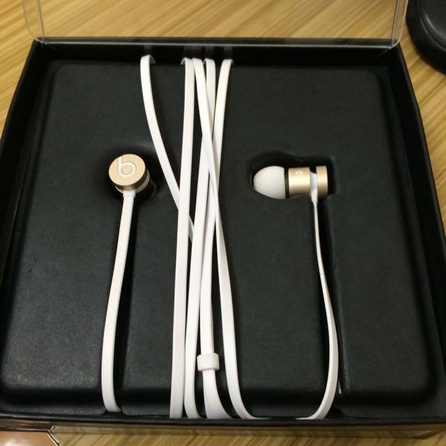 beats 耳機 白金 (近全新)