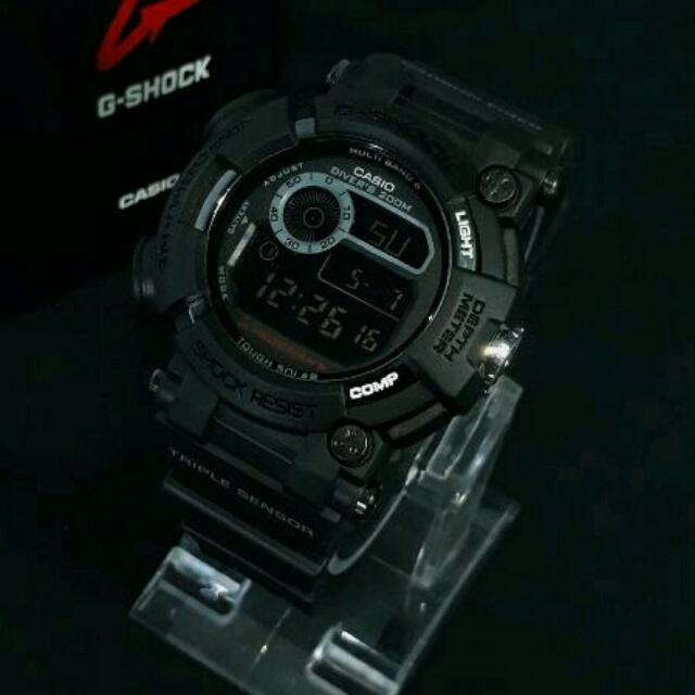 Best Seller...!!! Jam Tangan Pria Casio G-shock Gshock Frogman Gwf-1000 Full Black