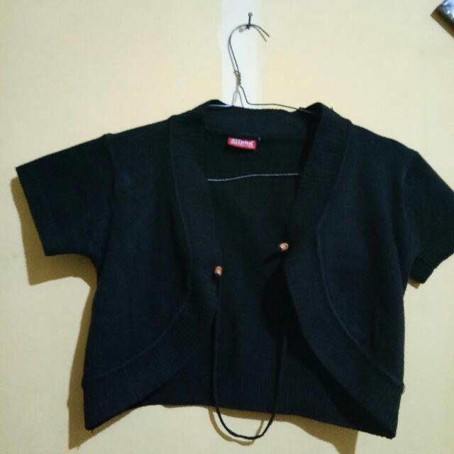 Black Cardigan By Ellena Collection 35rb