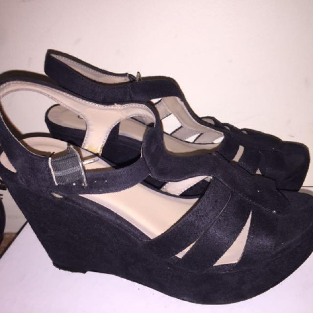 Black Size 8 Heels