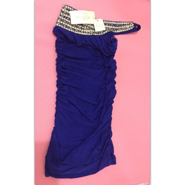 Blue Dress RJ Lady