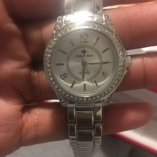 BNIB Silver Women's Bella & Rose Watch