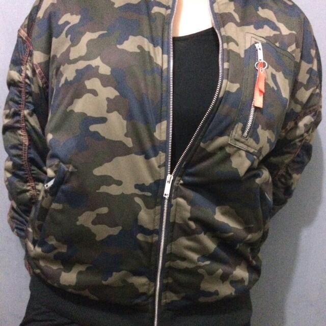BOMBER JACKET by ZARA