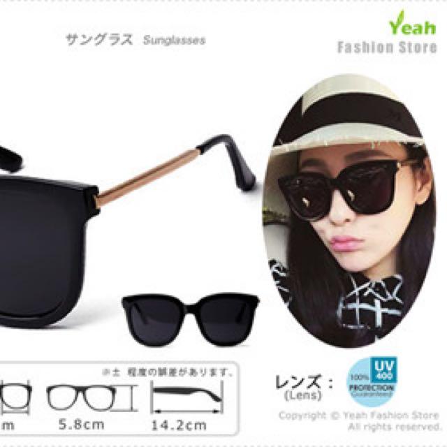 c833e3d09f  Reserved   BRAND NEW  Black Sunglasses - Gentle Monster Absente Inspired