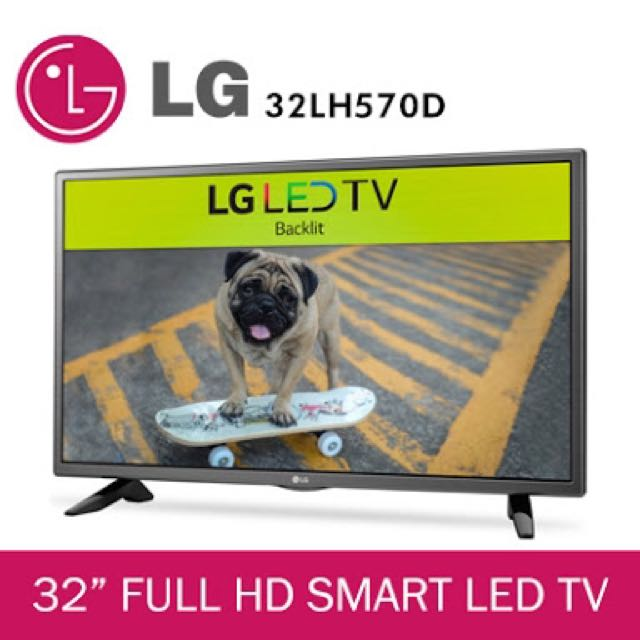 "Brand new LG 32"" HD Smart LED TV"