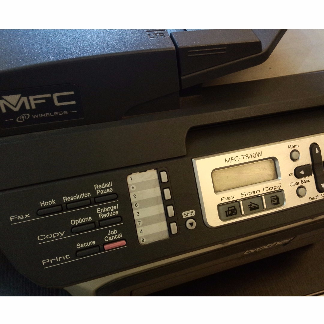 Brother MFC-7840W Laser All-in-One Printer