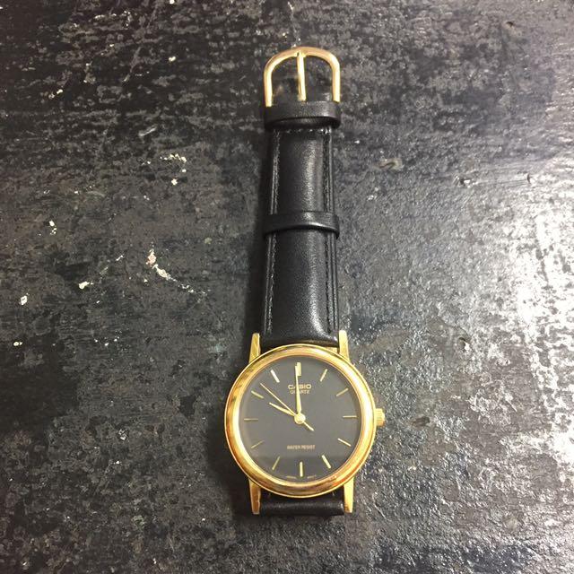 Casio復古圓錶