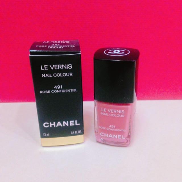 Chanel 乾燥玫瑰色 指彩
