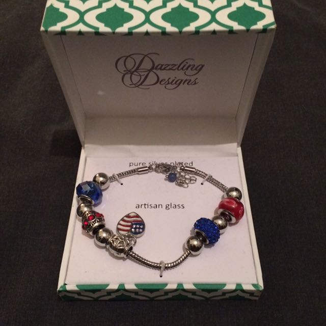 Dazzling Designs Bracelet with Charms