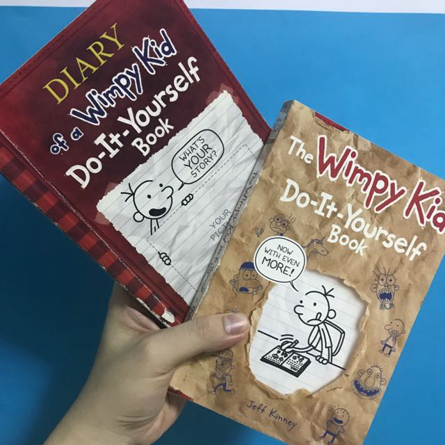 Diary of a wimpy kid do it yourself books books on carousell solutioingenieria Gallery
