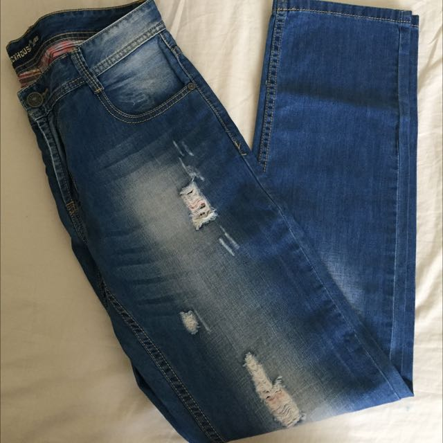 Dochouse Ripped Jeans