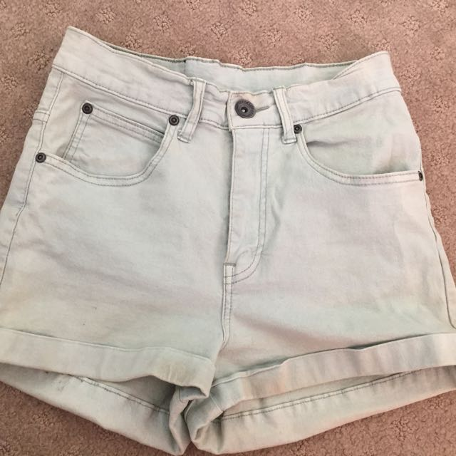 Dr Denim - Light Blue Shorts Size 10