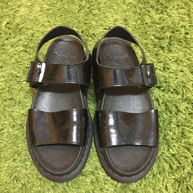 Dr.martens增高厚底涼鞋/馬丁/涼鞋/厚底鞋