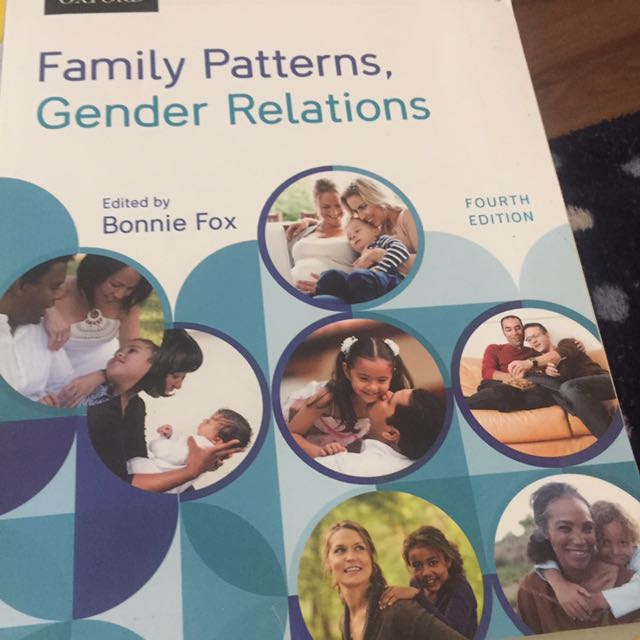 Family Patters And Gender Relations 4th Ed