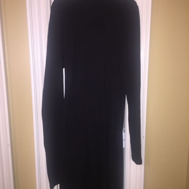 Fashion Nova fitted black dress