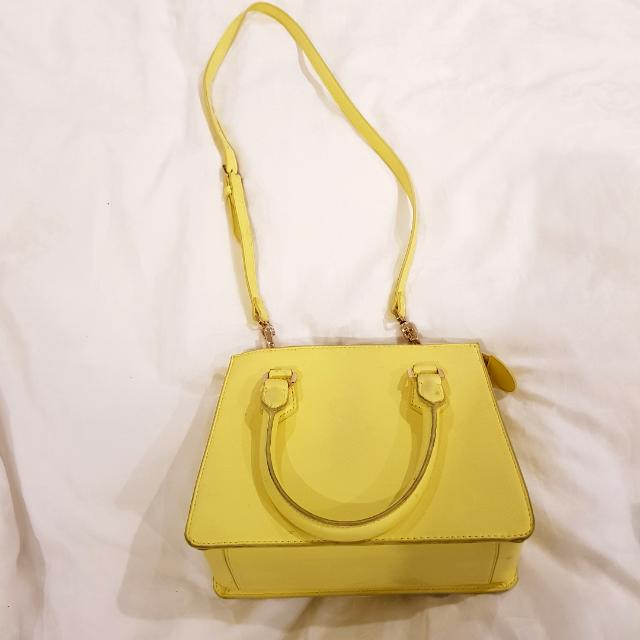 FAST SALE Yellow Sling Bag