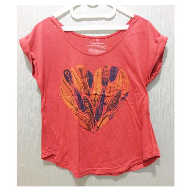Feather Vintage Red