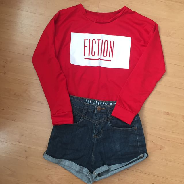 FICTION tumblr inspired pullover