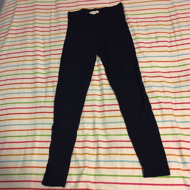 Forever 21 Navy Blue Leggings