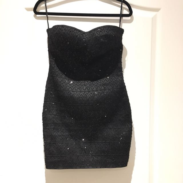 Forever 21 Sequence Bandage Dress