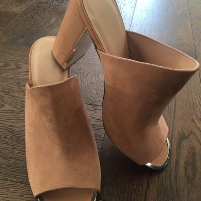 Forever New Mule Heels