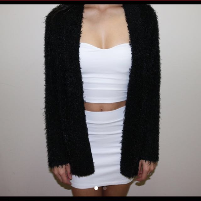 Furry Cardigan
