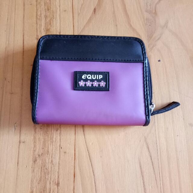 Girls Purple Wallet