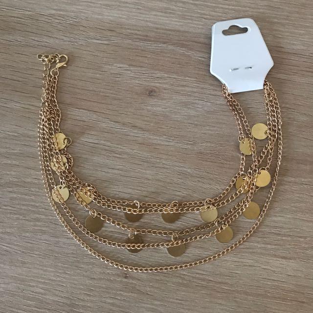 Gold Chocker Necklace