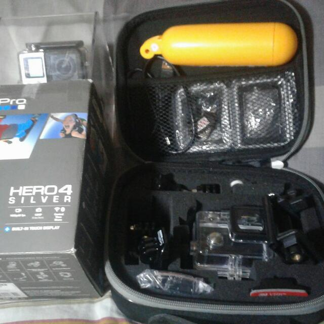 Gopro Hero 4 With Freebies