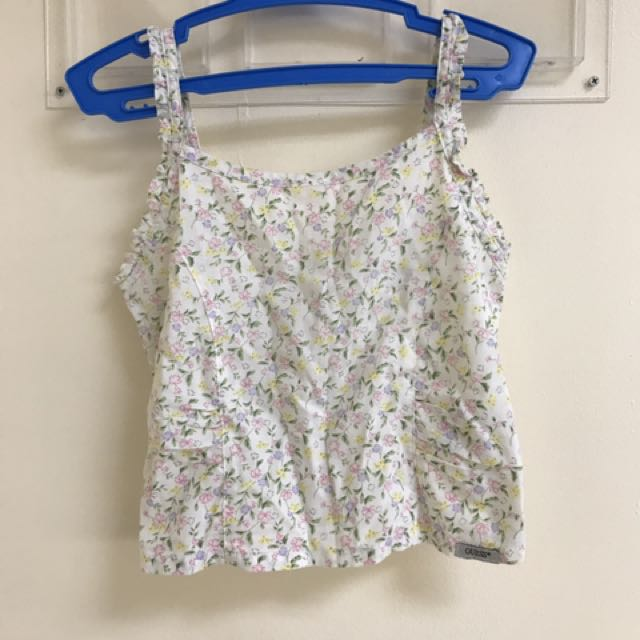 Guess Floral Crop Top