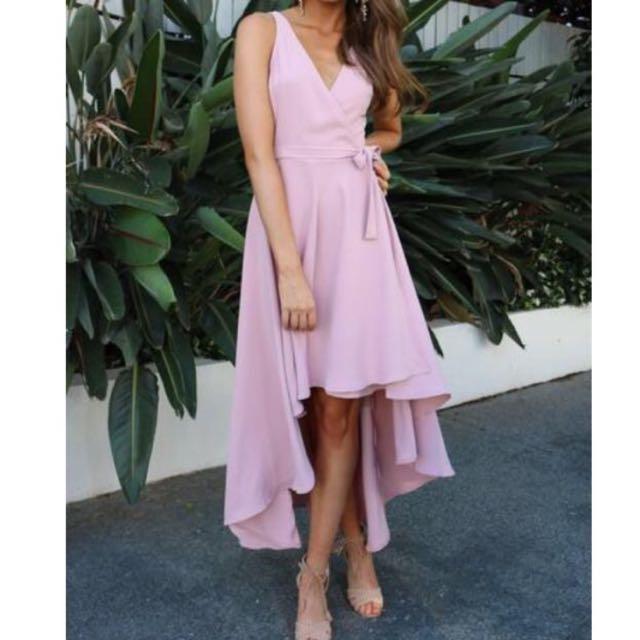 Hudson Maxi Dress (wrap around)