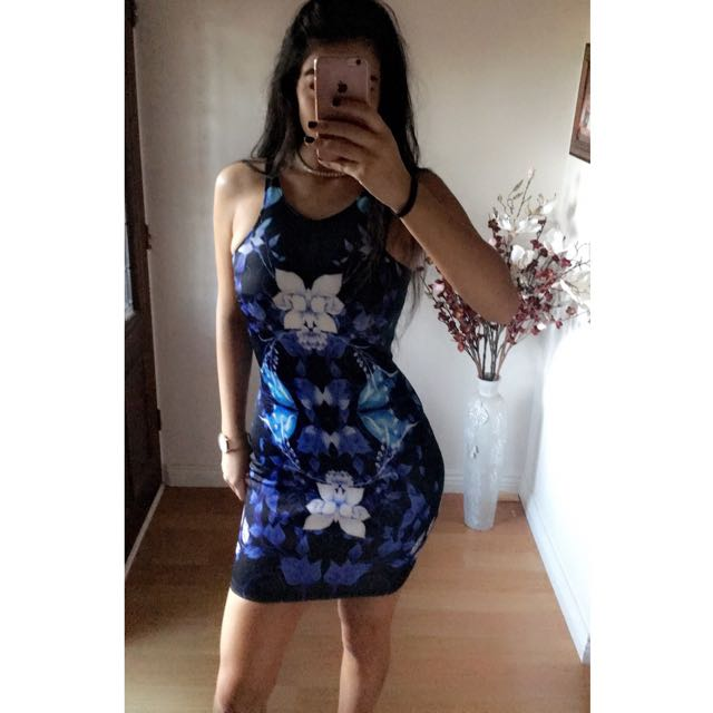 ICE Fashion Floral Dress