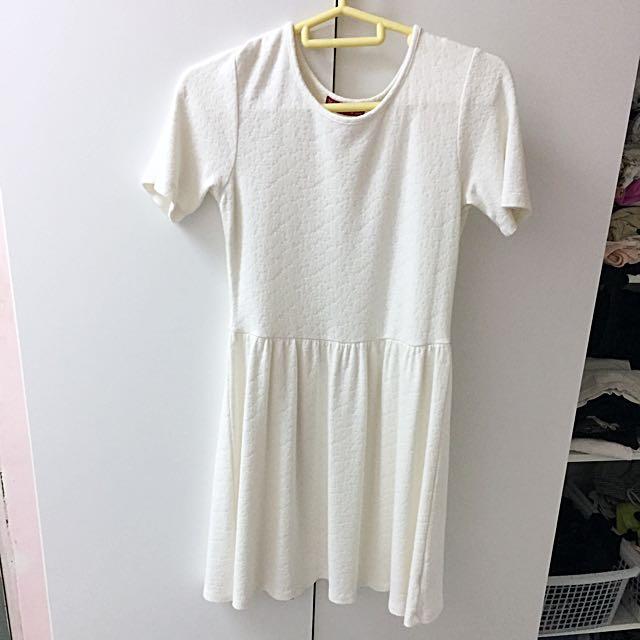 (INC POST) Padini White Dress