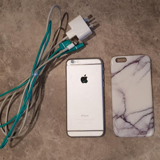 Price Negotiable * iPhone 6 64gb, Case and Chargers