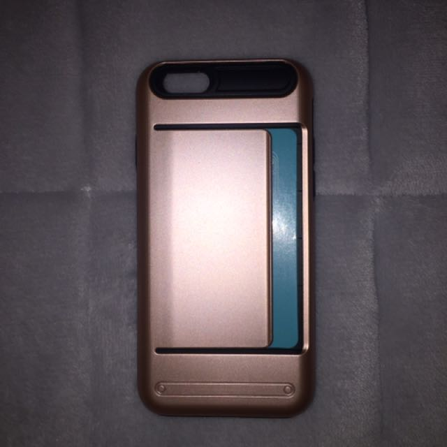 *NEW* iPhone 6s Rose Gold Credit Card Case