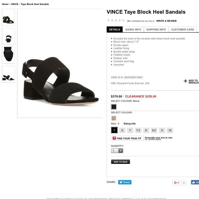 ISO Vince Taye Block Heel Sandal