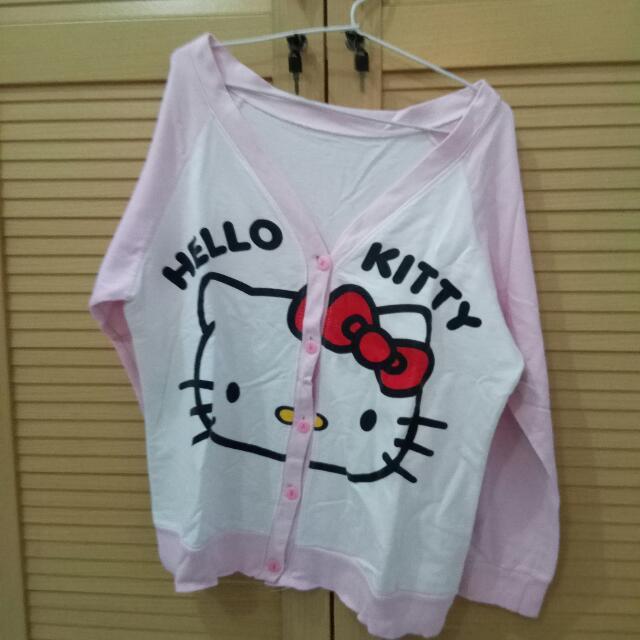 Jaket / Cardigan Hello Kitty