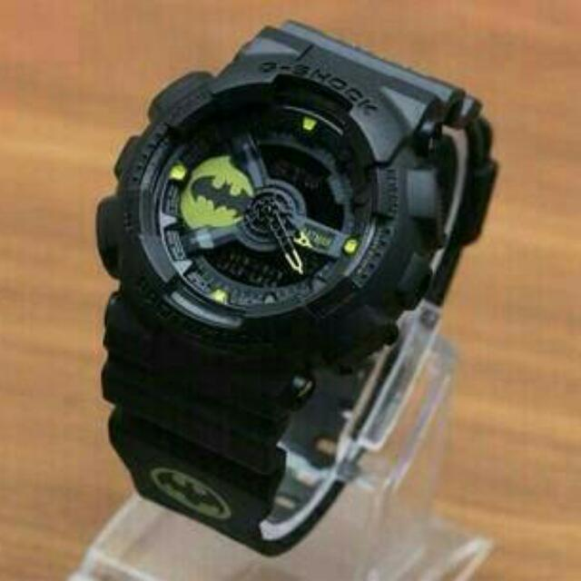 Jam Tangan Casio Gshock Batman Full Black